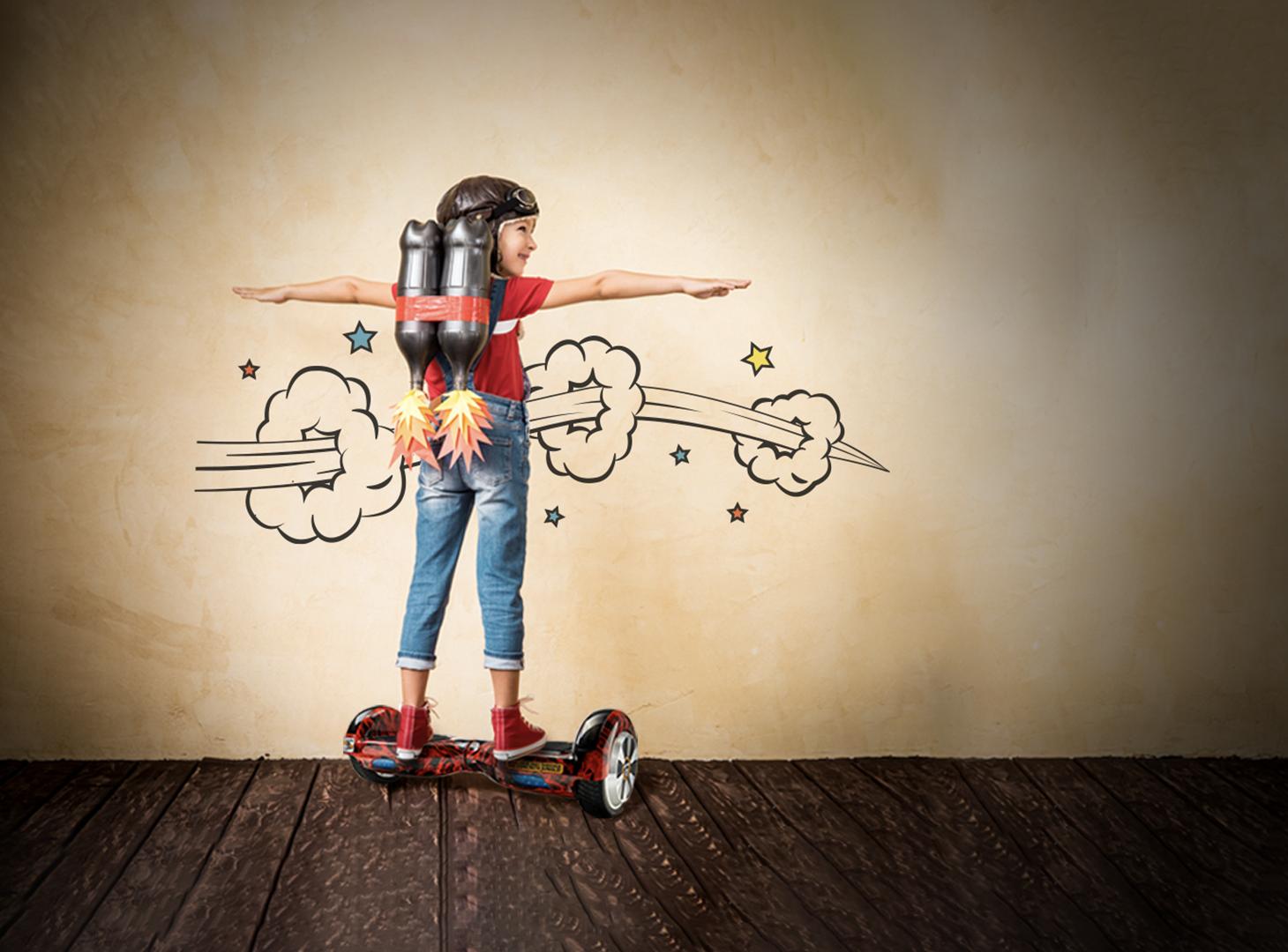 3 povesti inspirationale despre hoverboard