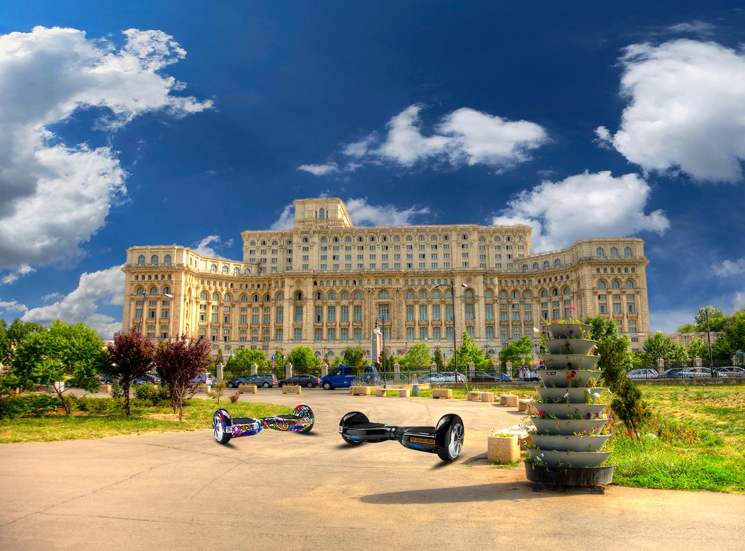 Parcuri din Capitală care te așteaptă pe hoverboard în 2019